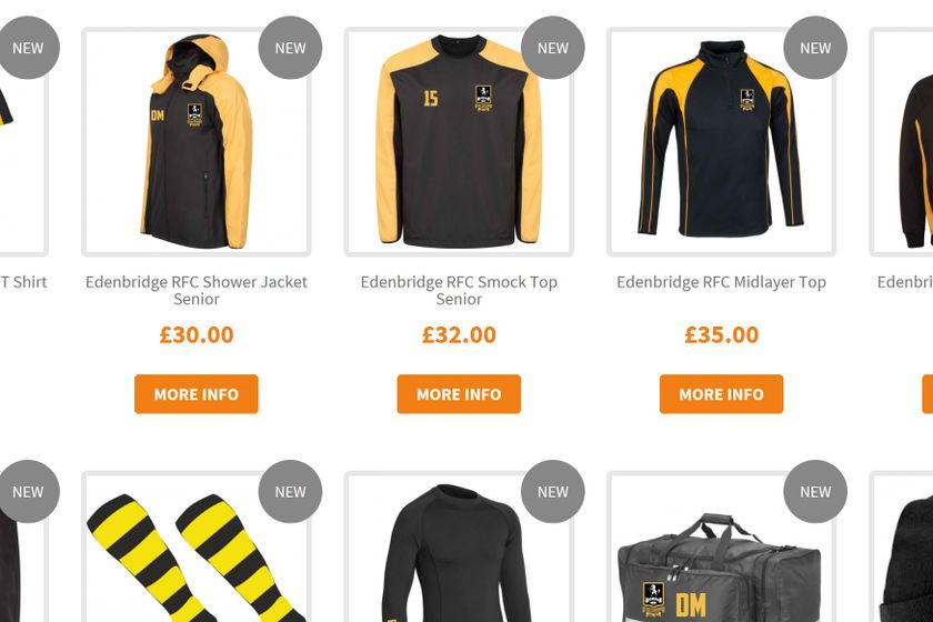 ERFC Online Kit Shop