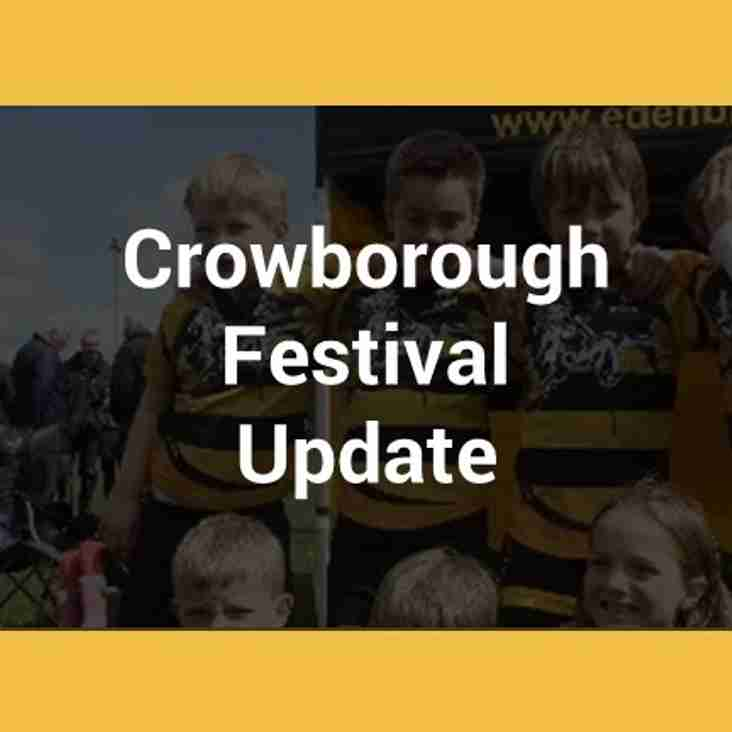 Advice for Travel to Crowborough Festival