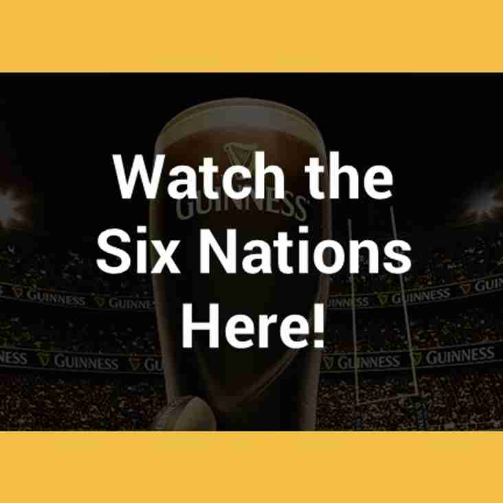 Watch the 2019 Guinness Six Nations at ERFC