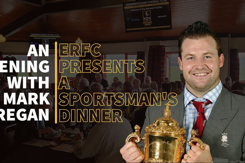 Edenbridge RFC presents An Evening with Mark Regan