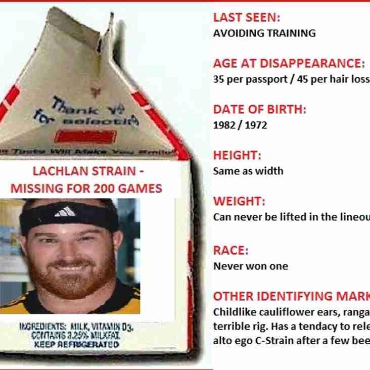 Lachlan Strain hits 200