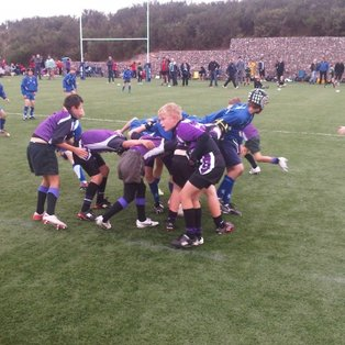 Exmouth u11's took part in the Land Rover Premiership Cup