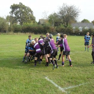 Exmouth battled well in 1st half away to Topsham