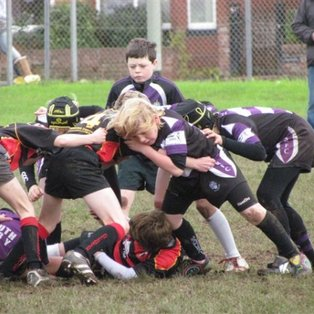 Exmouth U11's play a better return match against Cullompton but still lose