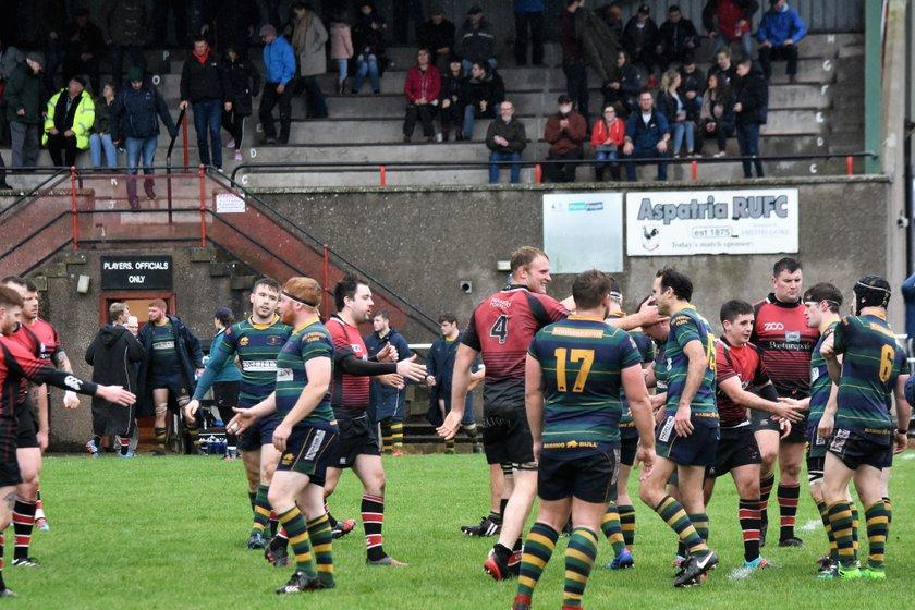 Aspatria RFC 1st XV 10 v 10 Keswick RFC 1st XV I Cumbria 1 I Photos by Ben Challis