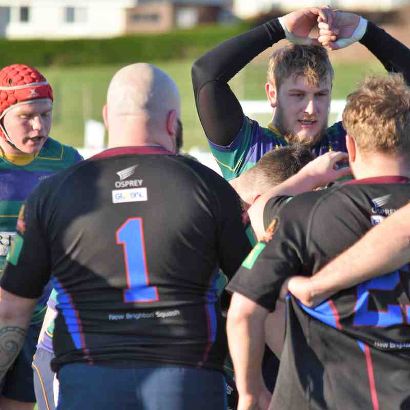 Keswick RFC 2nd XV 35 v 28 New Brighton RFC 2nd XV I Robinson Brewery Trophy QF I Photos by Ben Challis
