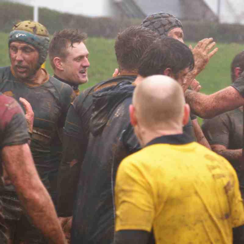 CHAMPIONS! I Keswick RFC 1st XV 10 v 5 Aspatria RFC 1st XV I Keswick win Cumbria 1 I Photos by Ben Challis