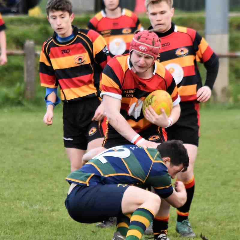 KESWICK COLTS 7 V 5 KIRKBY LONSDALE COLTS i Cumbria County Cup Semi Final I photos by Ben Challis