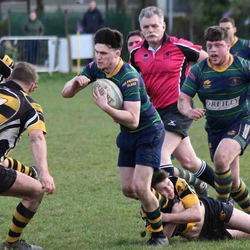 KESWICK RFC 1ST XV 8 V 23 COCKERMOUTH RFC 1ST XV I Cumbria League Cup Semi Final I Photos by Ben Challis