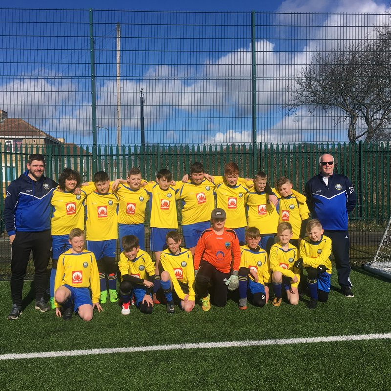Under 14 Yellows lose to Northburn Wanderers 5 - 6