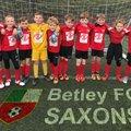 Betley FC Saxons lose to Nantwich Town Dabbers 1 - 2