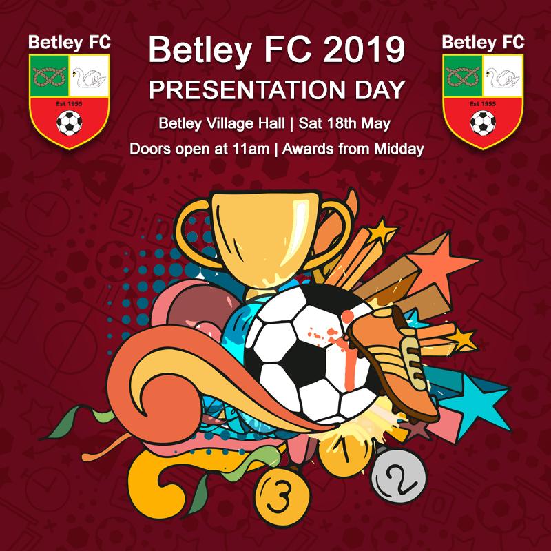 Betley FC 2019 Presentation Day