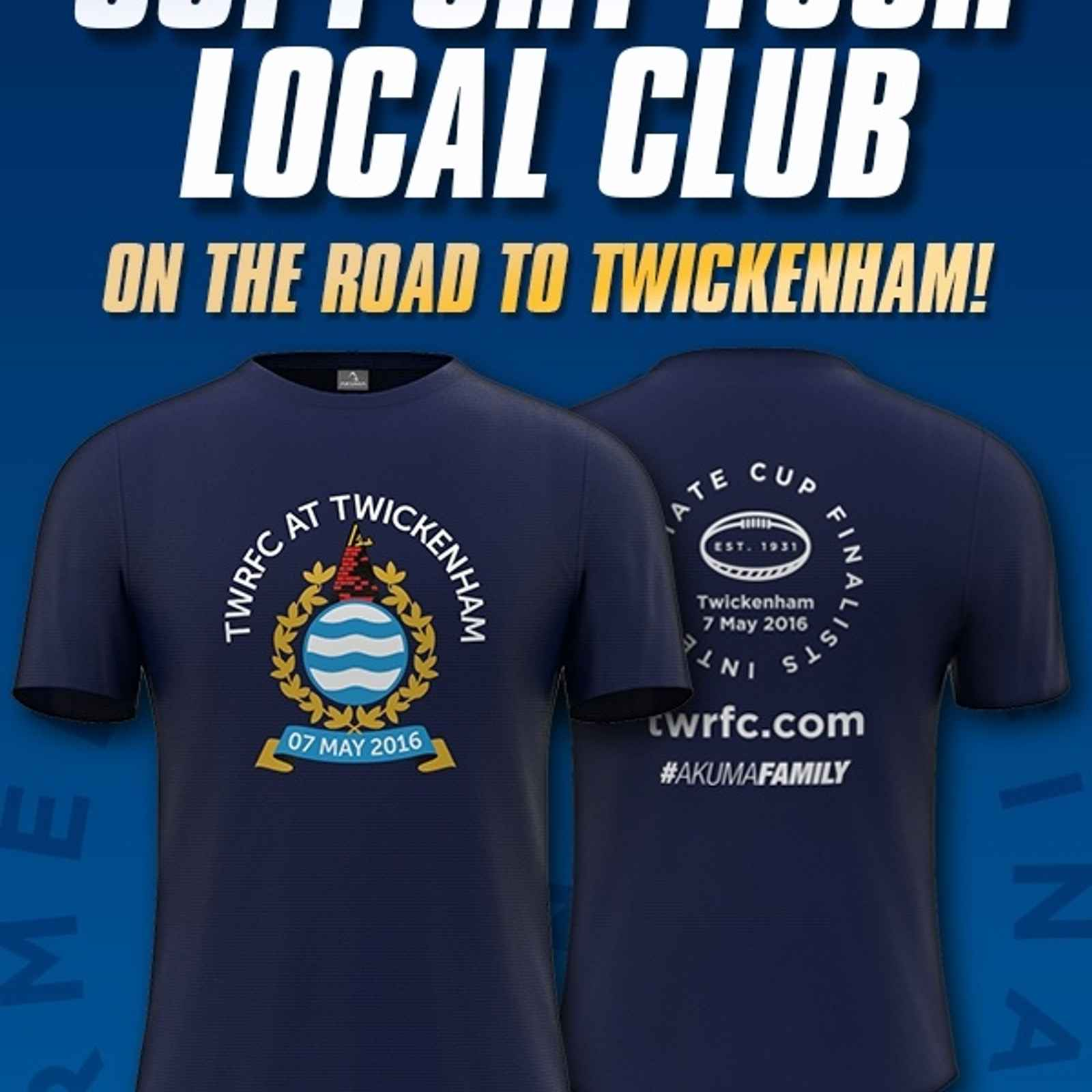 STILL CHANCE TO BUY CUP FINAL MERCHANDISE THIS EVENING!
