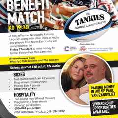 Tankie's Benefit Match