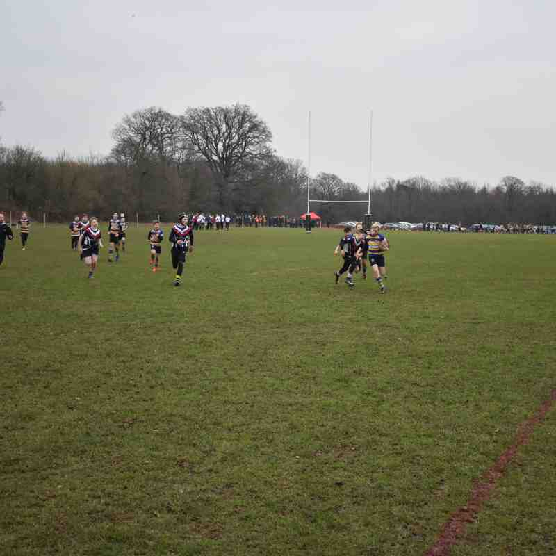 Kent U13 Waterfall Tournament Round 1 Old Elthamians A