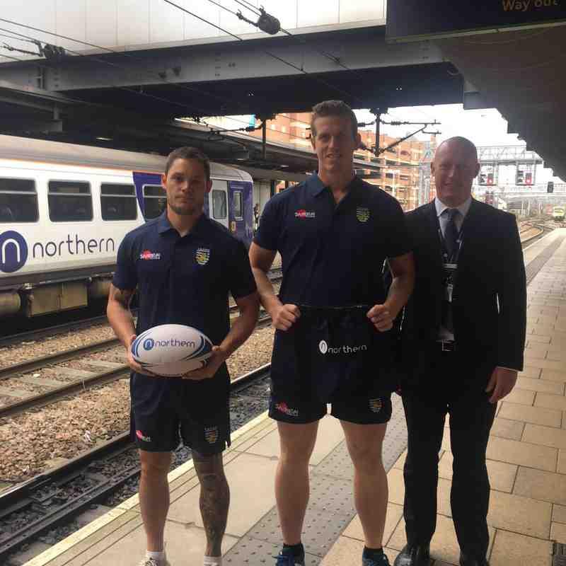 Welcome On Board Northern Rail!