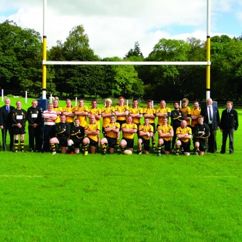 First team lose to Upper Eden 43 - 0