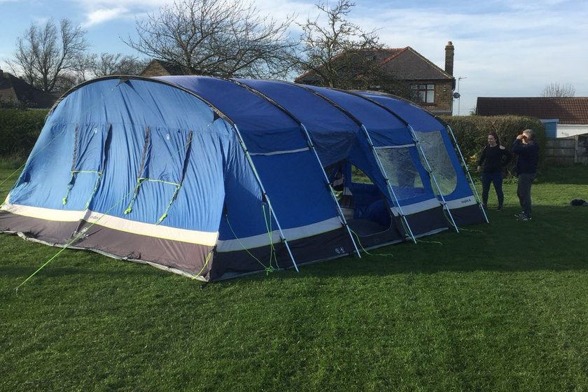 New Tent for Under 8's and 9's Tournaments