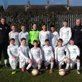 Under 12 White beat The Rossoneri Sat 10 - 0