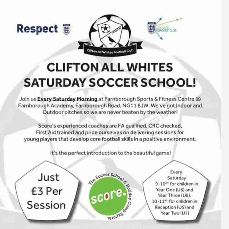 Soccer School Open this weekend