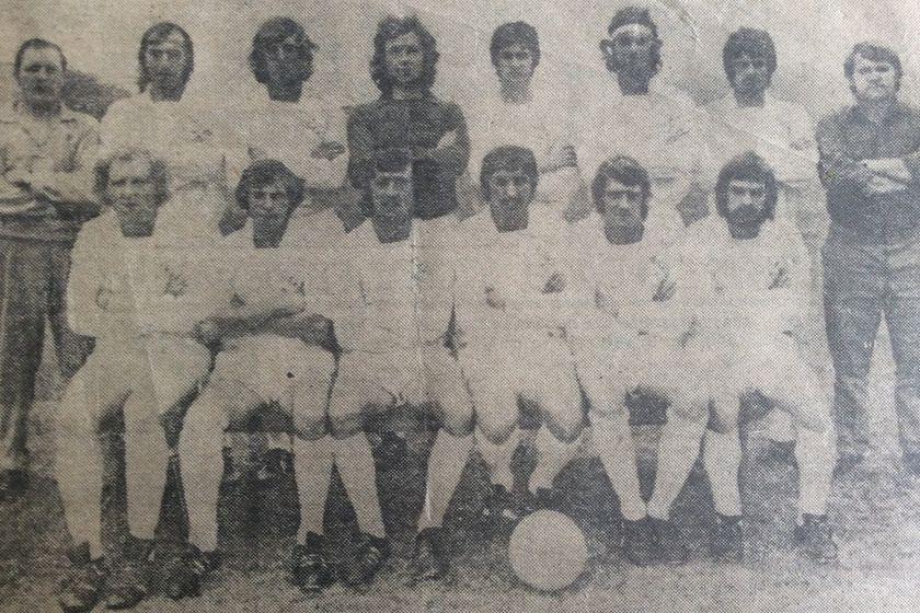 Clifton All Whites 1973-74 - Midland League Picture