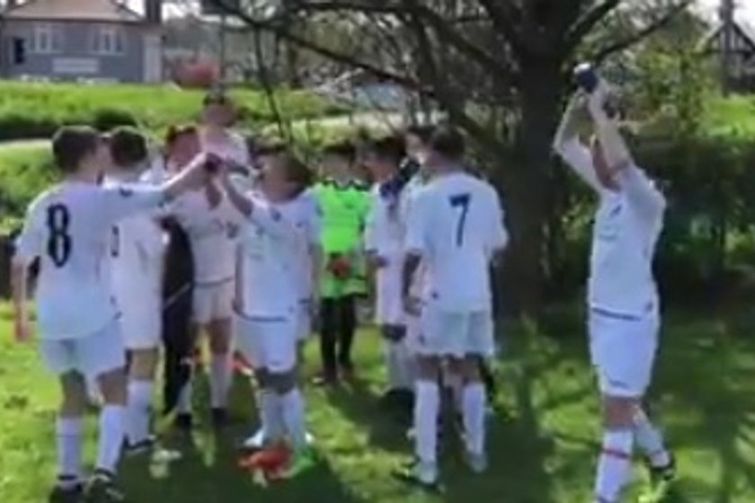 Under 12 Whites - Undefeated Champions take the honours