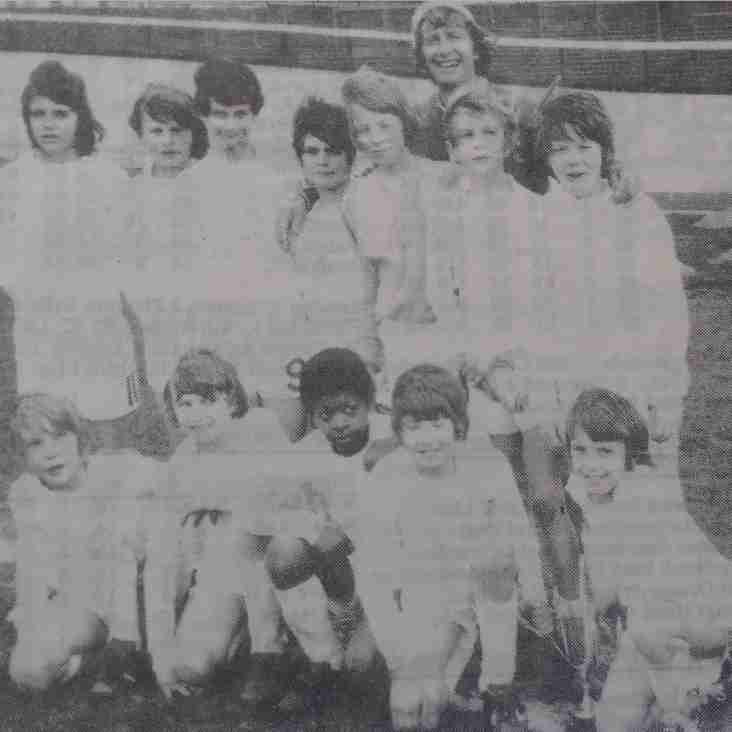1973 Young Elizabethan League Junior Cup Winners