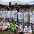 Under 11 White beat  Rolls Royce U 11  Blue 1 - 5