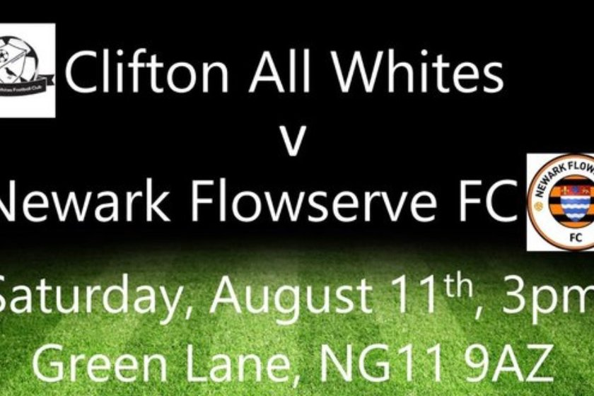 Clifton All Whites 2 Newark Flowserve 2 - Development Draw at Magdala