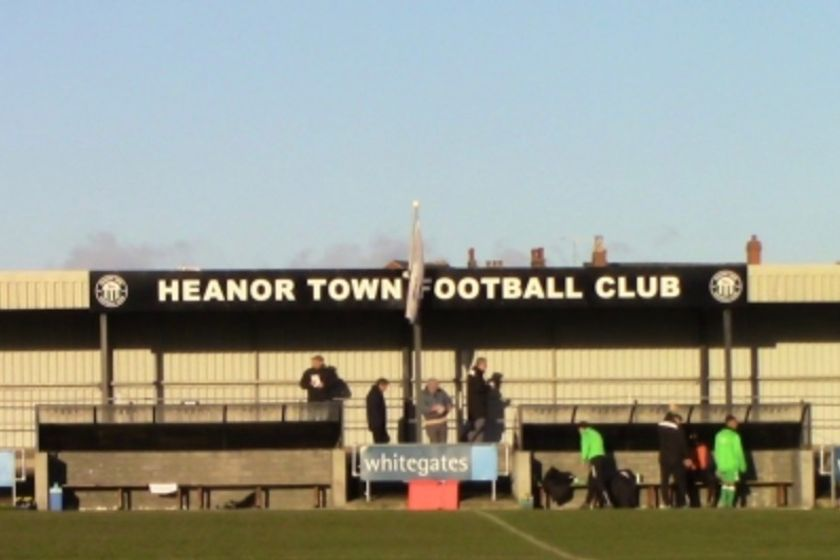Heanor Town  2-1 Clifton All Whites - East Midlands Counties