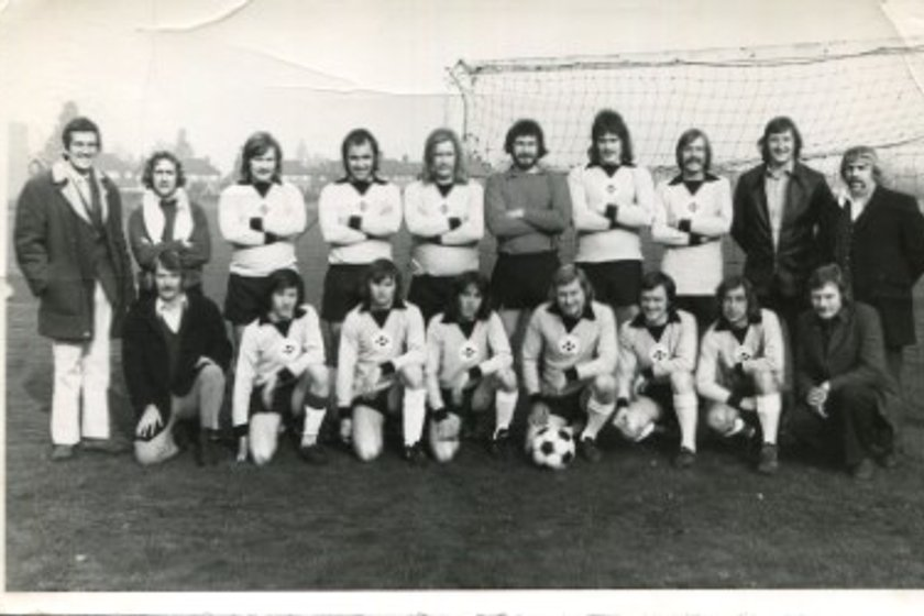 Is This Your Dad ?  1976-77 -  Peacock FC Reserves