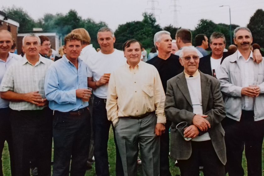 Clifton All Whites 40th Reunion + Michael Dilnot Update