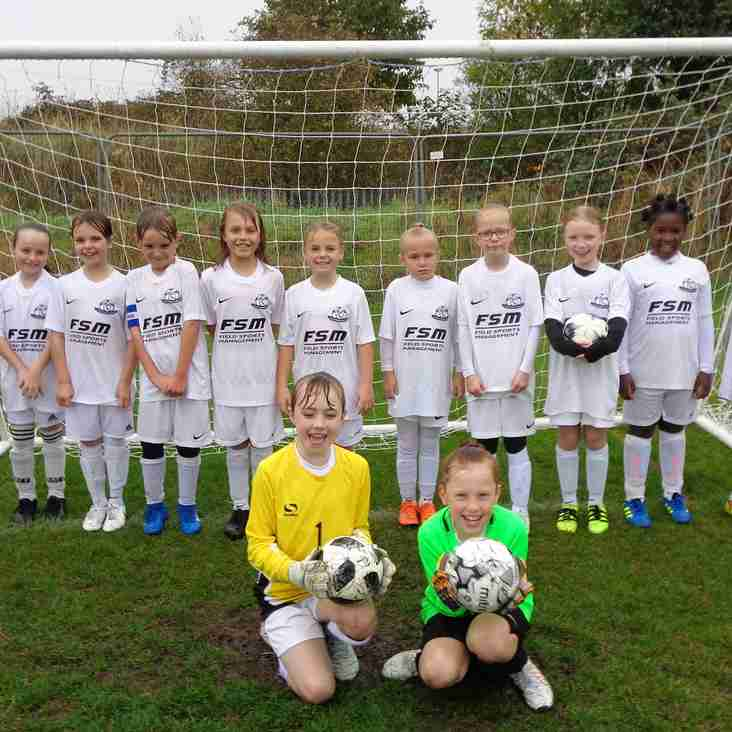 Under 9 Girls Goal Machine Rolls On