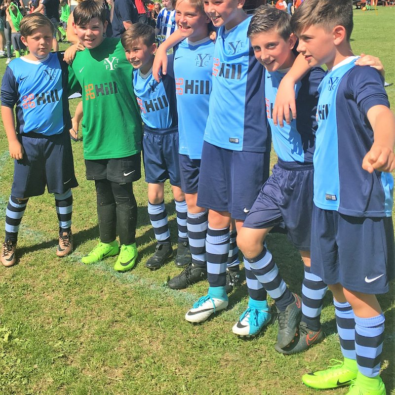Under 11's win the Buntingford Tournament
