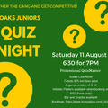Junior Quiz Night