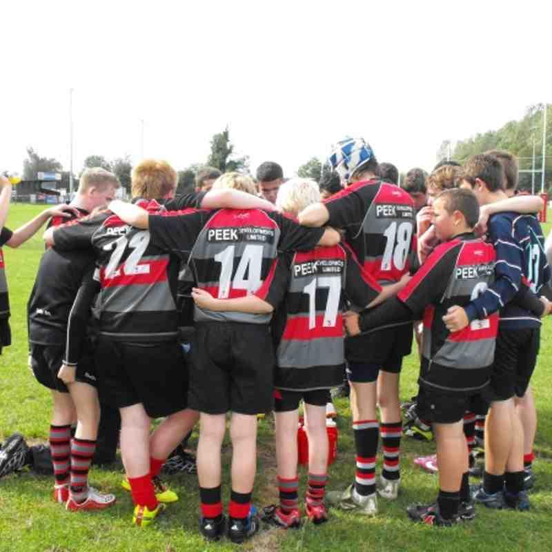 Dunstablian Under 14s v Bletchley 34-0