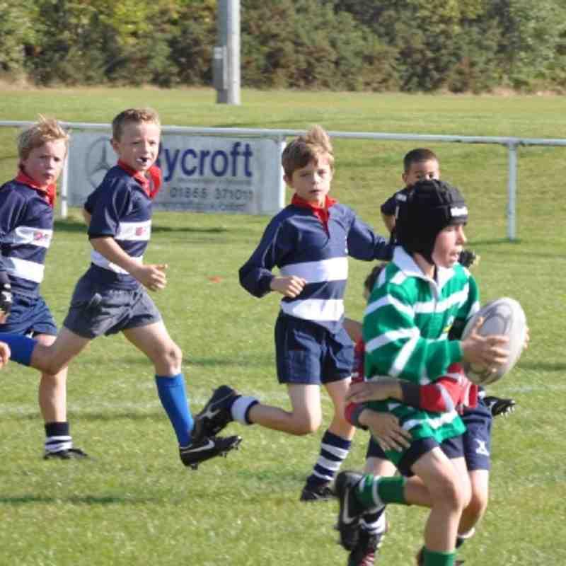 Under 9's Banbury 02/10/2011