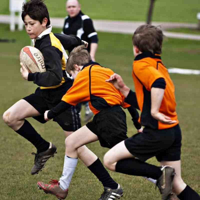 U10s Eccleshall 20 March 2011