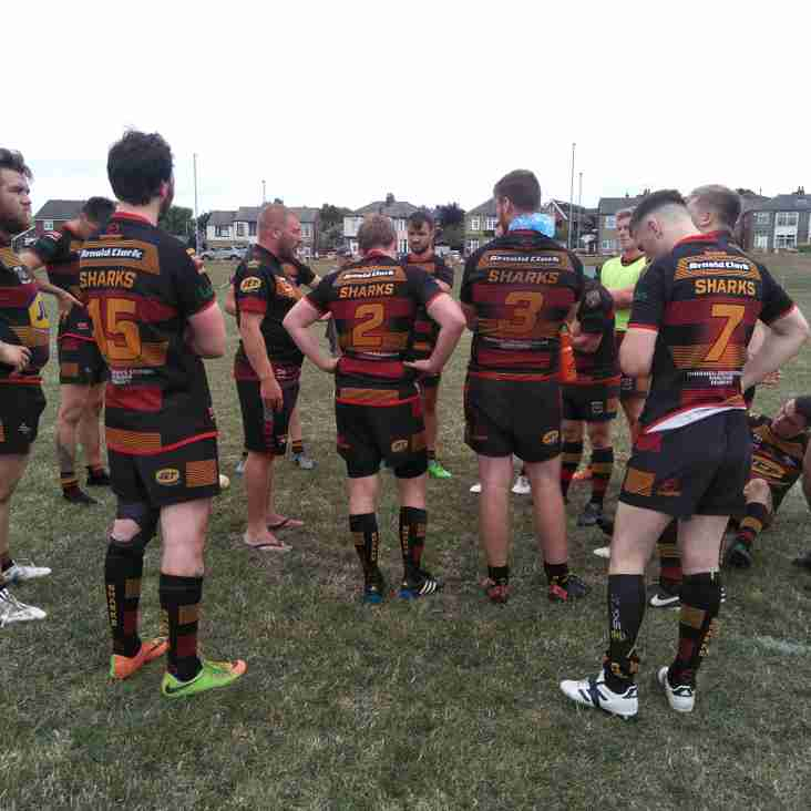 13-man Sharks defeated at Lions