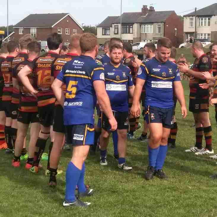 Relegation confirmed after battling defeat