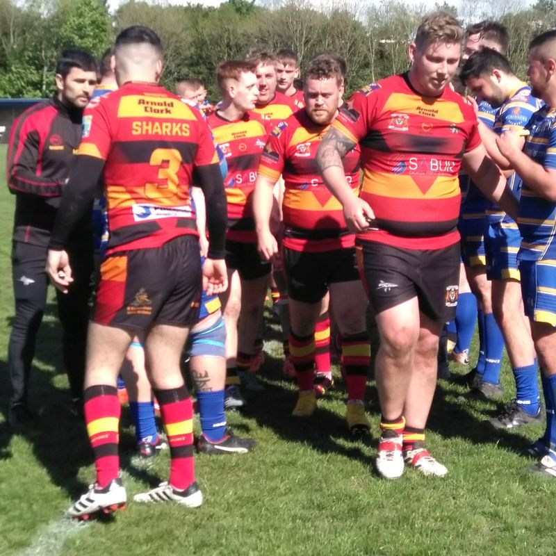 Sharks beaten in game of two halves