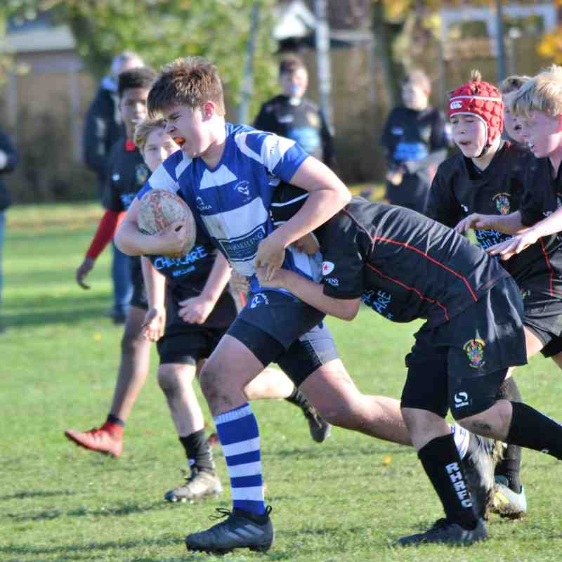 U13's at home to Rochford 11.11.18