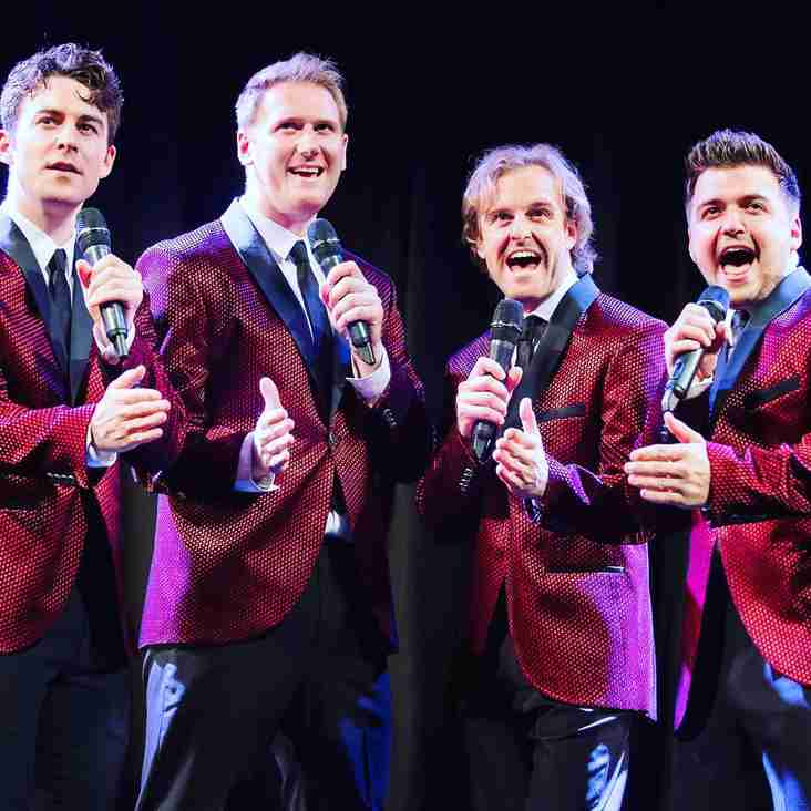 UK's leading Frankie Valli & The Four Seasons tribute band to play Tring Rugby Ball