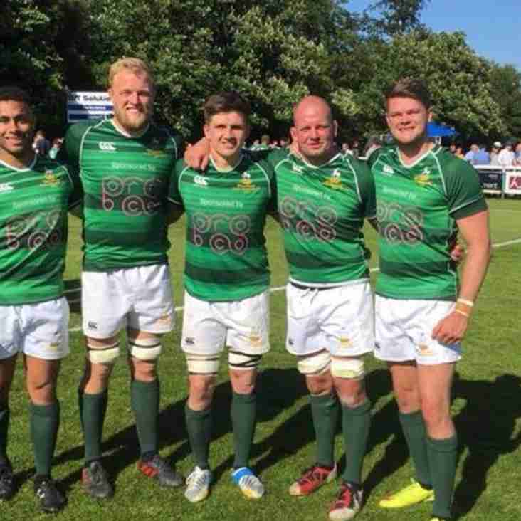 Five Tring players help take Herts to Twickenham