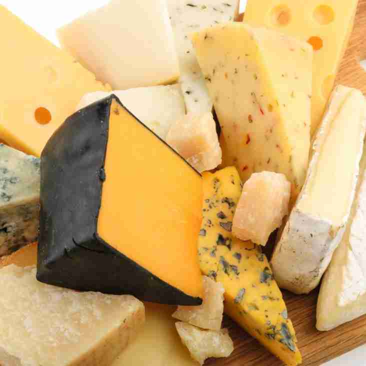 Gayle and Charlotte's cheese evening