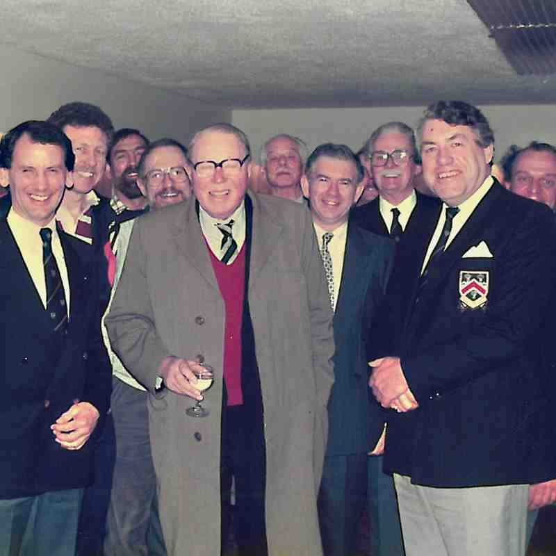 A NOSE INTO THE PAST -  New Club Grounds Opening