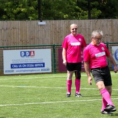 Surrey Walking Football League 2017/18 Bracknell members playing for Cove