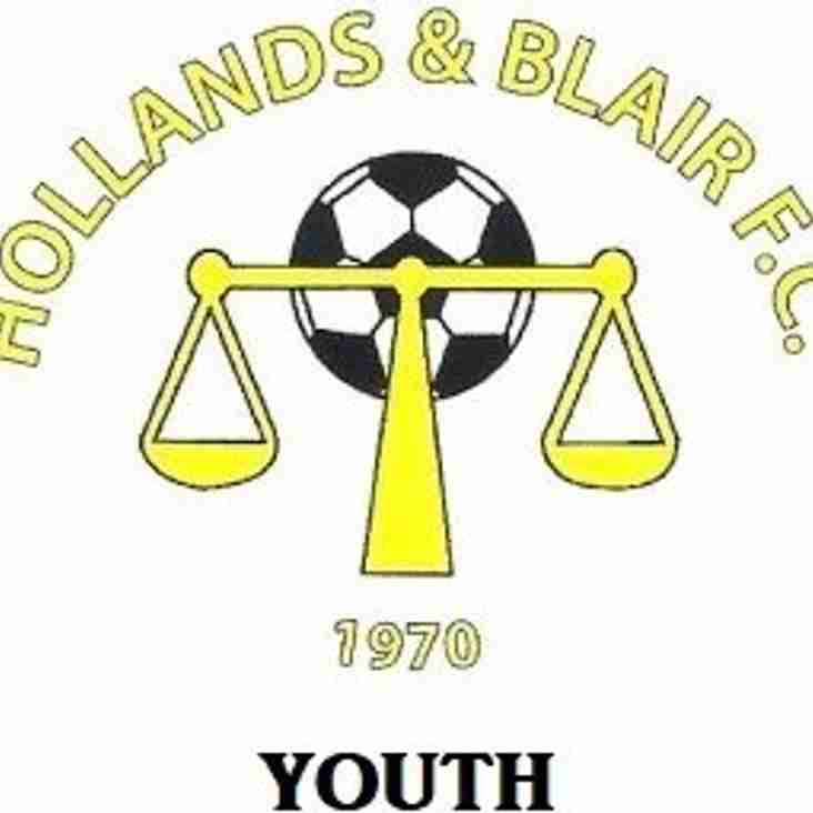 Hollands & Blair Under 9s for 2018/19 Season are actively looking for players!