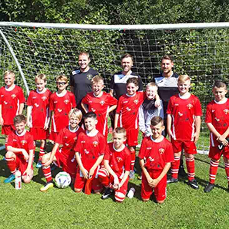 Blair Mini Youth team kick off the weekend