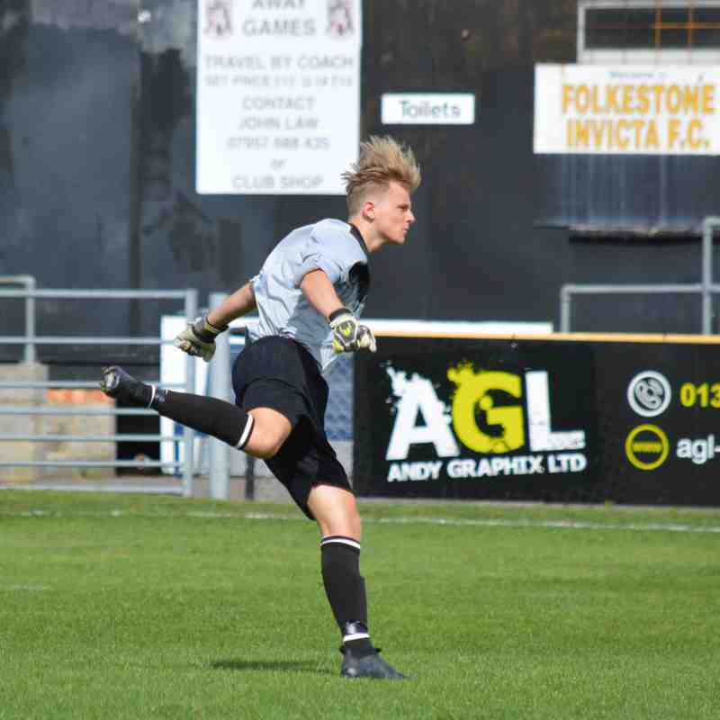 under 18s folkestone away